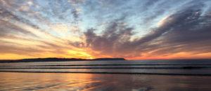sunrise rays broulee