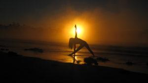 radiant sun yoga trikonasana