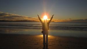 hail the sun yoga