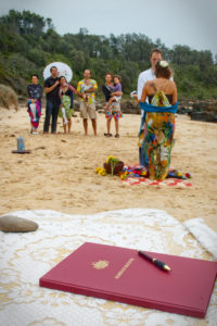 buddhist beach wedding nsw south cpast