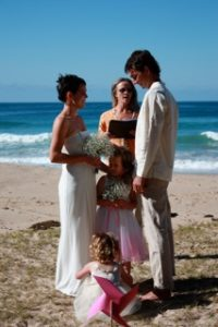 pebbly beach wedding nsw