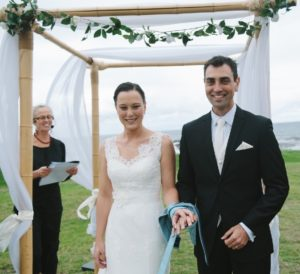 gerringong groom and bride