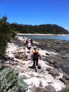 retreat beach trail south coast nsw