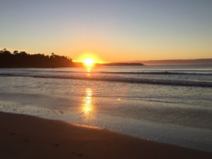 sunrise broulee beach