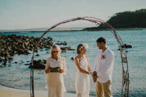broulee beach wedding