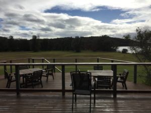 view from corunna farm function centre verandah